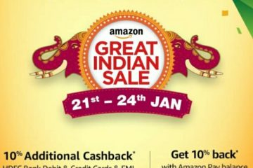 Amazon Great Indian Sale starts on 21st January
