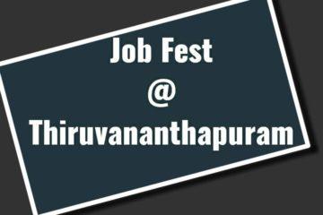 Job fest at Thiruvananthapuram