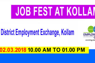 Job Drive at Kollam