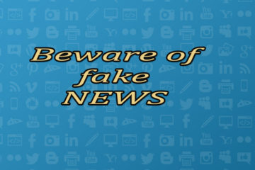 Beware of fake news in social media..