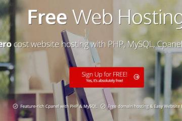Get a free Website Hosting