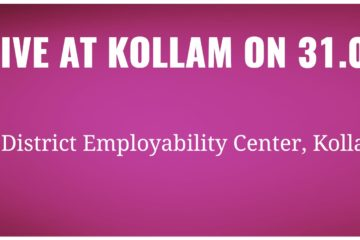 JOB DRIVE AT KOLLAM ON 31.03.2018