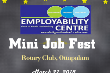 MINI JOB FEST AT OTTAPPALAM ROTARY CLUB