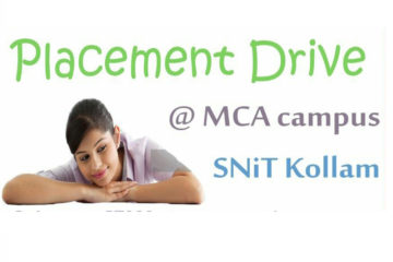 Placement Drive at SNIT, Kollam