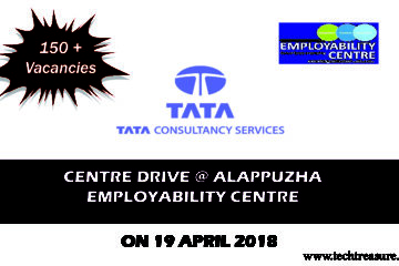 TATA Consultancy Service Recruitment at Alappuza