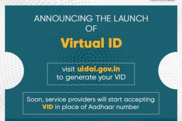 UIDAI launches Virtual ID