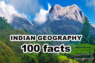 100 Facts : Indian Geography