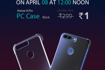 Honor 8 Pro case only at Rs. 1 !!!