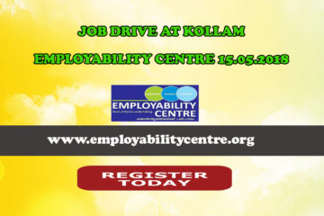 JOB DRIVE AT KOLLAM EMPLOYABILITY CENTRE