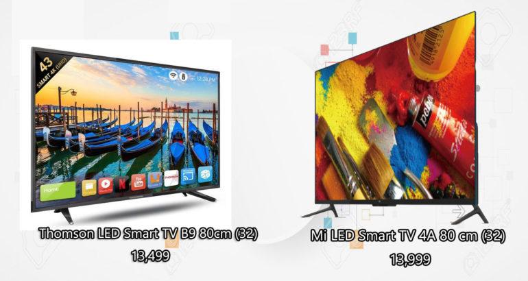 Thomson LED Smart TV Vs Mi LED Smart TV