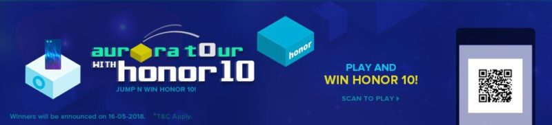 Play and Win Honor 10