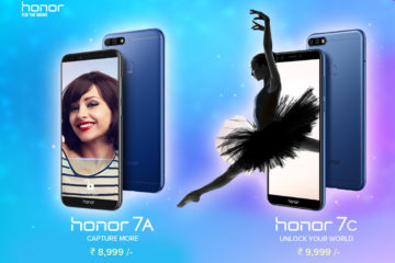 Honor 7A and Honor 7C Launched