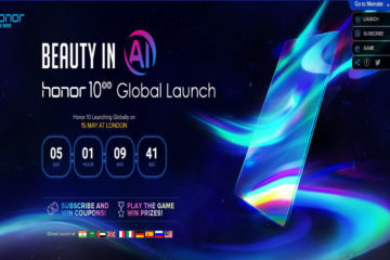 Honor 10 Global Launch