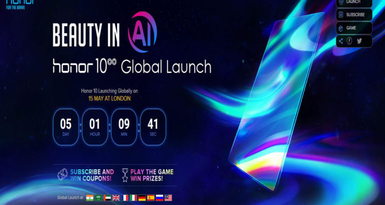 Honor 10 Global Launch