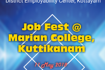 JOB FEST AT MARIAN COLLEGE KUTTIKANAM