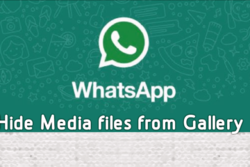 Hide WhatsApp media files from Gallery