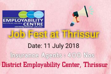 Job Fest for Insurance Agent