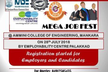 Lakshya Mega Job Fest 2018 By Palakkad Employability Centre