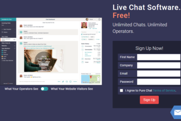 Add a Free Chat Support in website