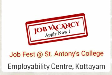 Job Fest at St. Antony's College, Ponkunnam