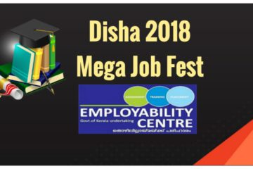 DISHA 2018 – Mega Job Fest at Kottayam