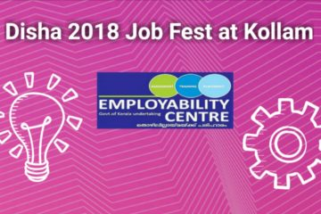 Disha 2018 Mega Job Fest at Kollam on 27.10.2018
