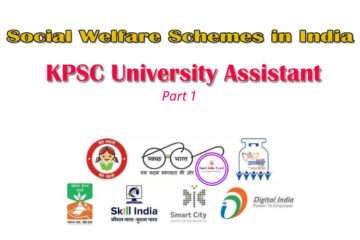 Social Welfare Schemes in India : University Assistant Topics