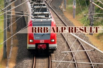 RRB ALP Revised Result Published