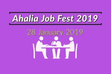 Ahalia Job Fest 2019