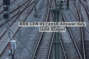 RRB CEN 01/2018 2nd Stage (ALP & Technicians Answer key released