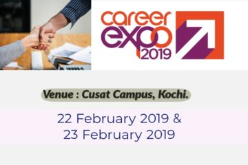 Career Expo 2019 at Cusat