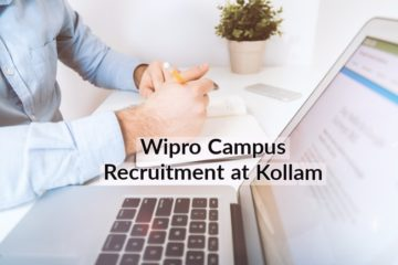 Wipro Campus Recruitment at TKM College of Arts and Science