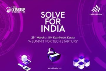 Solve For India-Tech Startup Summit