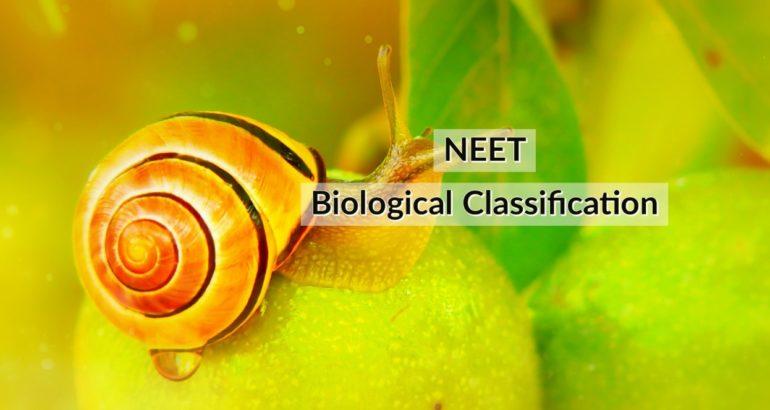 NEET Coaching Biology: Biological Classification
