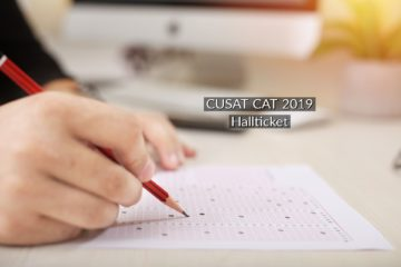 CUSAT CAT 2019 Admit Card Released