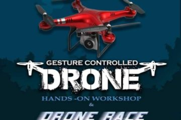 DRONE RACE – A hands-on workshop in association with Kerala StartUp Mission at Snit Kollam