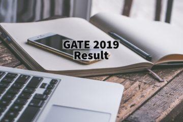 GATE 2019 Result Published