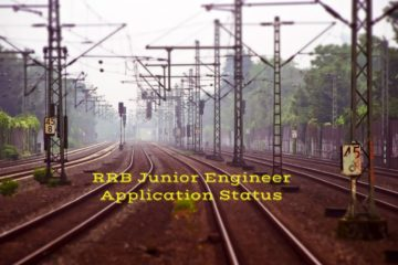 How to Check RRB Junior Engineer (JE) Application Status