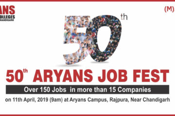 Job Fest in Aryans Group of Colleges, Chandigarh