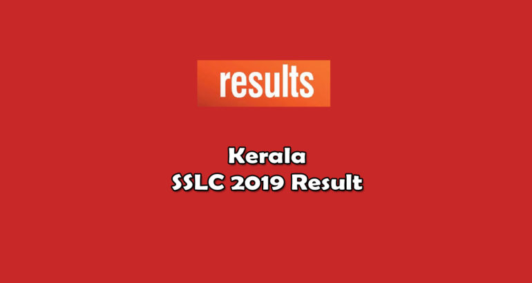 Kerala SSLC Result 2019 Published: Check result here