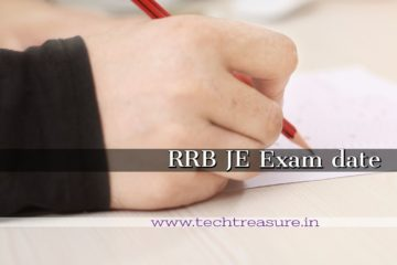 RRB Junior Engineer Examination (CEN.03/2018) date declared
