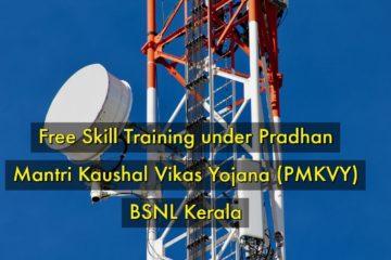 Free Skill Training Programmes in BSNL,Kerala