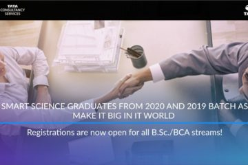TCS Smart Hiring talented BSC and BCA students from 2019 and 2020 batches