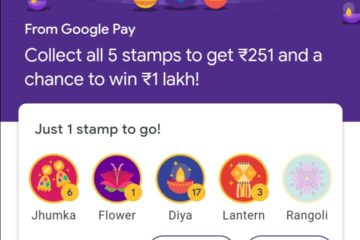 Tricks to get Rangoli & Flower Stamp in Google Pay