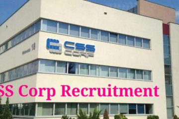 CSS Corp – All Kerala Recruitment Drive for 2020 batch all PG / UG students