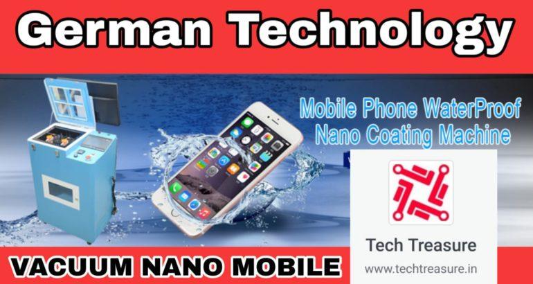 Mobile Phone Water Proof Nano Coating Machine : Video