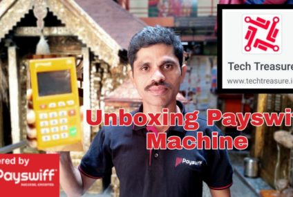 Unboxing Payswiff Machine : Video