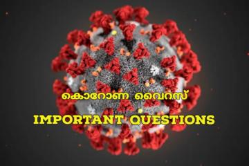 കൊറോണ : Important Questions