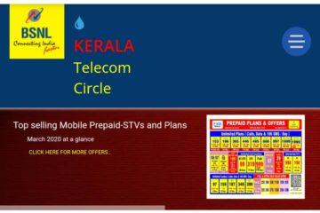 Bsnl Kerala Tarriff Card March 2020