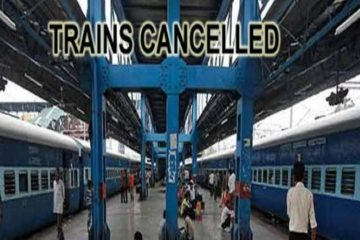 Cancelled Trains Trivandrum Division